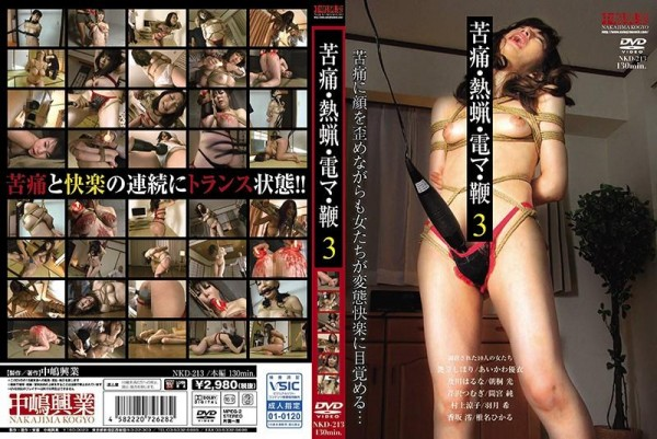 [NKD-213] 苦痛・熱蝋・電マ・鞭 3 Pain · Hot Wax · Electric Wire · Whip 3 1.82 GB..